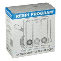 Henrotech Respiprogram Spiromètre Incentif 1 st