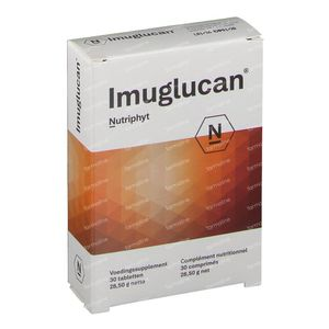 Imuglucan 250mg 30 tabletten