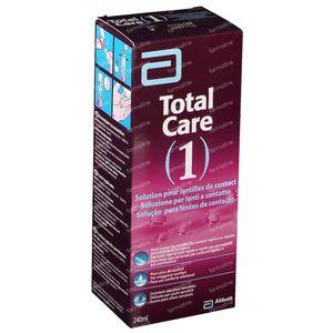 Total Care 1 All-In-One Lentilles Dures + Etui A Lentilles 240 ml