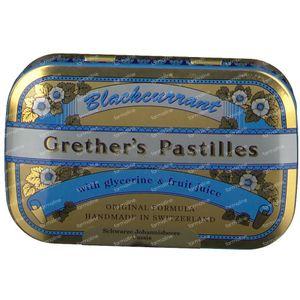 Grethers Pastilles Blackcurrant 60 g