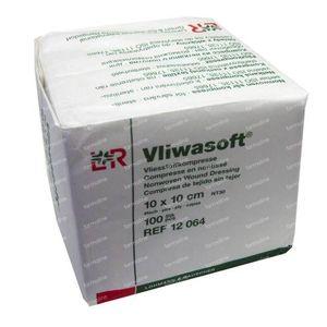 Vliwasoft 10 x 10cm 12064 100 compresses