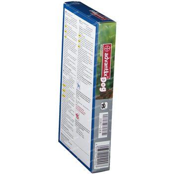 Advantix 400/2000 Spot-On Solution Chien 25<40kg 4x4,0 ml