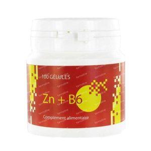 Zinc - B6 Gel 100 St Capsule