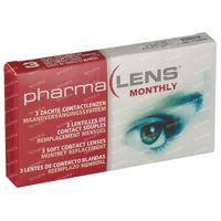 PharmaLens Monatslinsen (Dioptrie +5.00) 3  kontaktlinsen