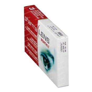 PharmaLens Lentilles (mois) (Dioptrie +8.00) 3 lentilles