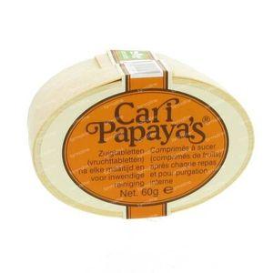Cari Papaya S 60 comprimés à sucer