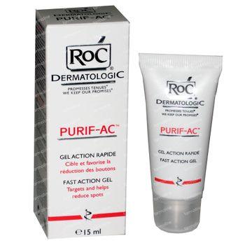 Roc Purif-Ac Gel Action Rapide 15 ml tube