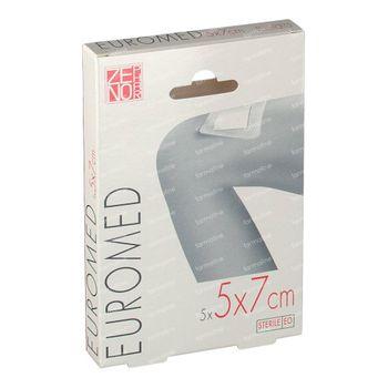 Euroderm Plus 5cm x 7cm Pans d'Ile Sterile 5 st