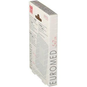 Euromed 5cm x 7cm Island Plaster Sterile 5 unidades
