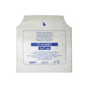 Euromed 5cm x 7cm Island Plaster Sterile 1 St