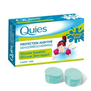 Quies Earplugs Silicone Swimming For Kids 1 St