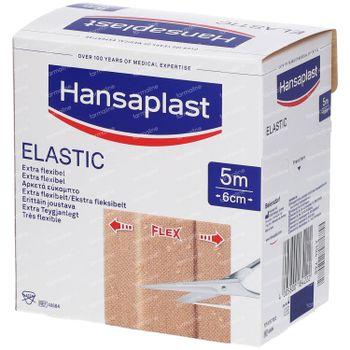 Hansaplast Elastic Extra Flexible 5mx6cm 1 stuk