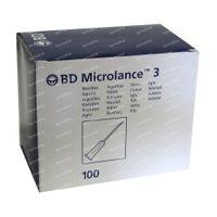 BD Microlance 3 Aiguille 26g 0.45mm x 16mm Brun 100 st