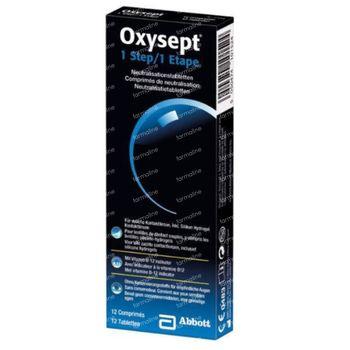 Oxysept 1 Step 12 comprimés