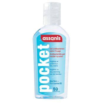 Assanis Antibacteriële Handgel 80 ml