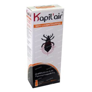 Belgium Kapil'Air Shampoo Anti-Lice 150 ml