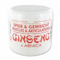 Jia-Wei Spier- en Gewrichtverzorgende Creme met Ginseng en Arnica 250 ml