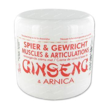 Jia-Wei Crème De Soin Muscles et Articulations avec Ginseng et Arnica 250 ml