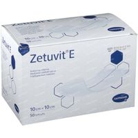 Hartmann Zetuvit E 10 x 10cm 413860 50 stuks