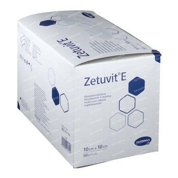 Hartmann Zetuvit E 10 x 10cm 413860 50 pièces