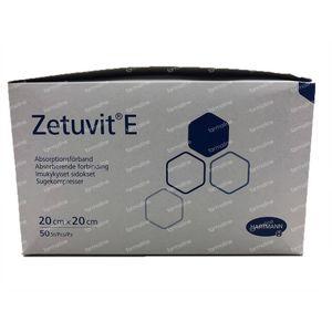 Hartmann Zetuvit-E Non Stérile 20x20cm 4138641 50 pièces