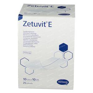 Hartmann Zetuvit E Stérile 10 x 10cm 413770 25 pièces