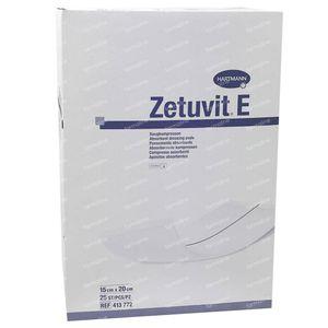 Hartmann Zetuvit-E Stérile 15x20cm 4137722 25 pièces