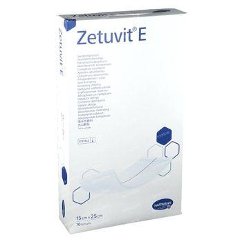 Hartmann Zetuvit E Steriel 15 x 25cm 413773 10 stuks