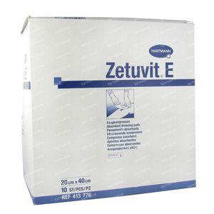 Hartmann Zetuvit E Steriel 20 x 40cm 413776 10 stuks