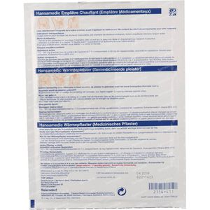 Hansamedic Warmtepleister Patch 2 patch