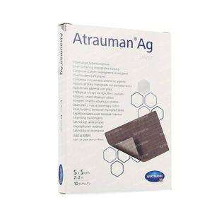 Hartmann Atrauman 5x5cm 4995716 10 pièces