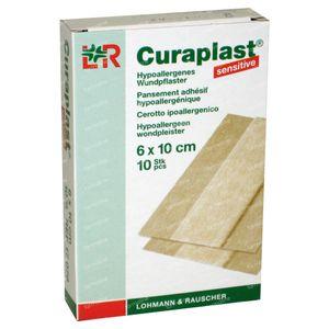 Curaplast Pans Adhesif 6cmx10cm 10 pièces
