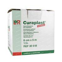 Curaplast Sensitive 8cm x 5m 30618 1 st