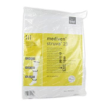 Mediven Struva 23 Anti - Thrombose Dijkous Wit T3 1 st