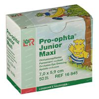 Pro-Ophta Junior Maxi Oogpleister 7x5,9 cm 50 stuks
