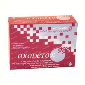 Axodetox Bioaxo 60 cápsulas