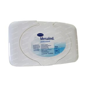 Hartmann Menalind Professional Wet Wipes 50 St