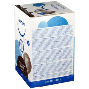 Calshake Schokolade 90 g x 7 beutel