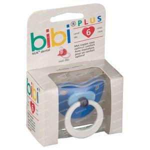 Bibi Pacifier Pop Dental Blue 6M 04 1 St