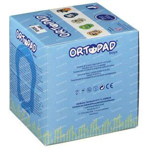 Ortopad Boys Junior Pans Oculaire 0-2 Ans 50 pièces