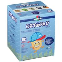 Ortopad Boys Regular Pans Oculaire 5+ Ans 50 pièces