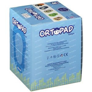 Ortopad Boys Regular Eye Plaster 5+ Years 50 pieces