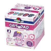 Ortopad Girls Junior Oogpleister 0-2 Jaar 50 st