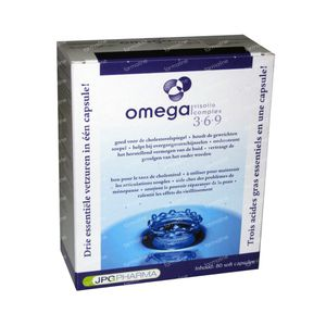 Omega 3-6-9 Visoliecomplex Softcaps 1668mg 80  capsules