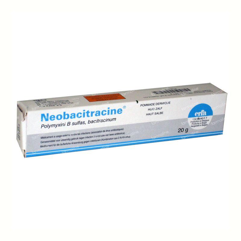 Neobacitracine Pommade Dermatrice 20 g commander ici en