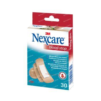 Nexcare Pleisters Blood Stop Strips 3 Maten Assortiment N1730AS 30 stuks