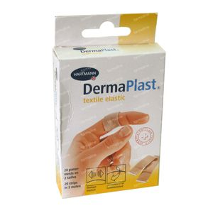 Hartmann Dermaplast Textiel Elastic Strips 222/1 20 stuks