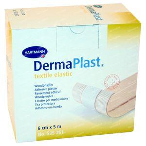 Hartmann Dermaplast Tessile Elastic 6cm x 5m 261/6 1 St