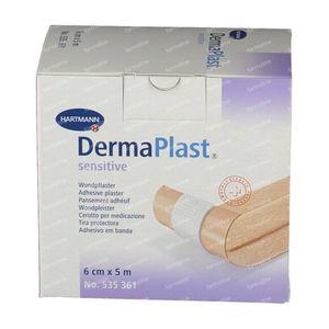 Dermaplast Hosp Sensitive 6cm x 5m 1 pièce