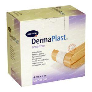 Dermaplast Hosp Sensitive 6cm x 5m 1 St
